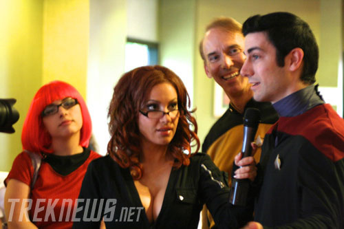Diana Terranova interviews a few Star Trek fans