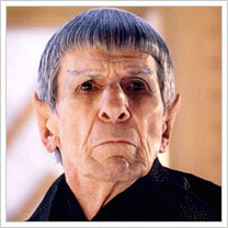 Leonard Nimoy as Spock Prime