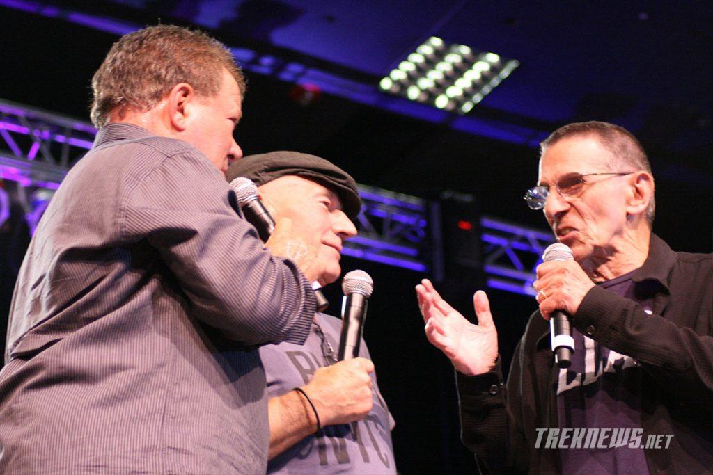 William Shatner, Patrick Stewart and Leonard Nimoy