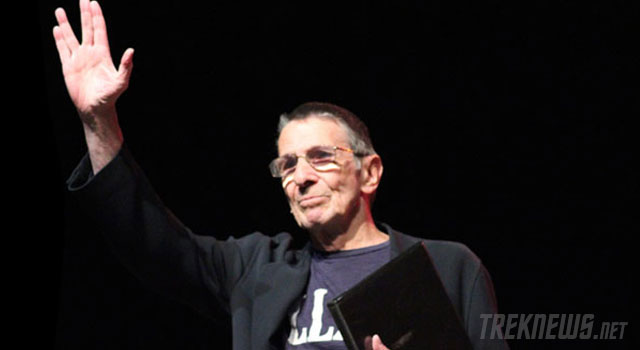 Leonard Nimoy Says Goodbye in Las Vegas