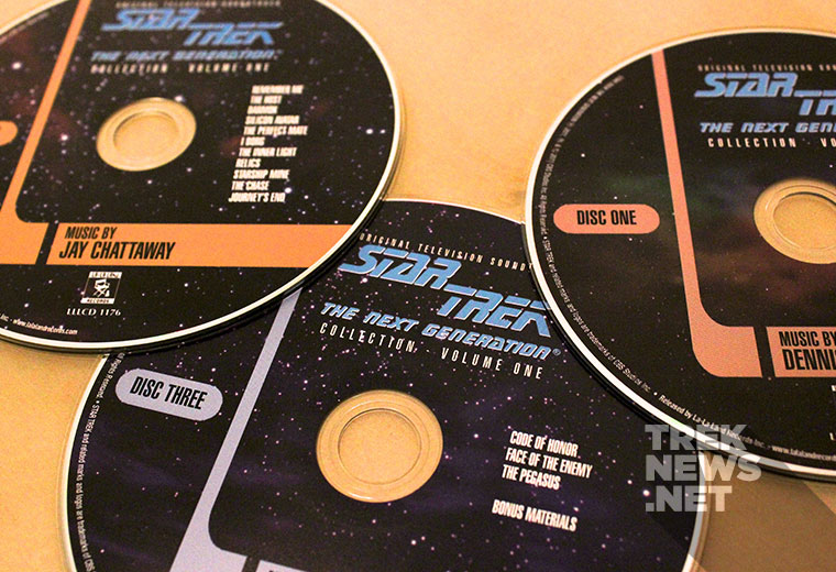 Review: Star Trek: The Next Generation Music Collection Vol. 1