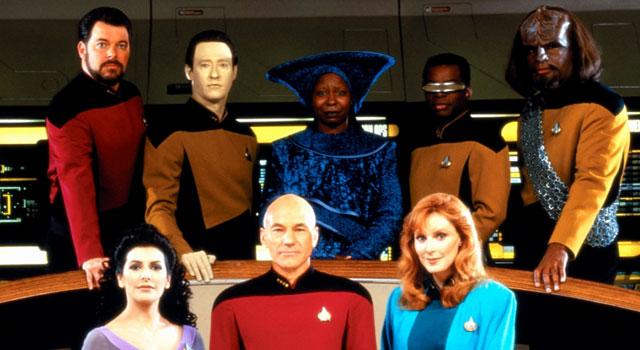 Star Trek: TNG Marathon on Syfy