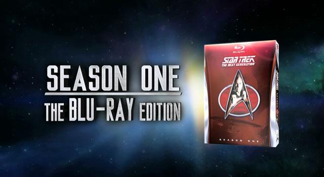 Star Trek: TNG, Season 1 on Blu-ray Release Date