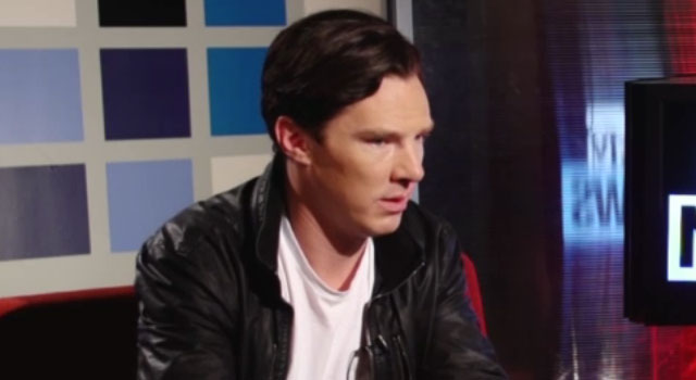 Benedict Cumberbatch Miserably Fails a Star Trek Quiz