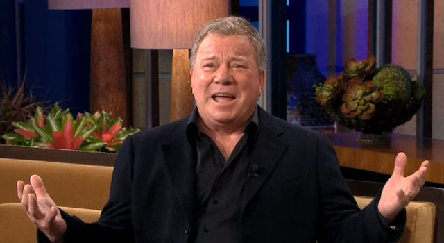 William Shatner on The Tonight Show