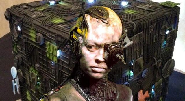 Amazing Borg Cube Birthday Cake [PIC]