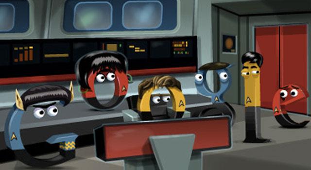 Google Doodle Celebrates Star Trek's 46th Anniversary
