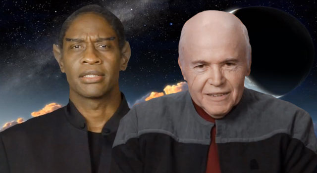 WATCH: Tim Russ & Walter Koenig Discuss the Star Trek: Renegades Web Series