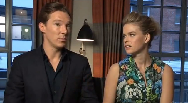Benedict Cumberbatch and Alice Eve Talk STAR TREK INTO DARKNESS