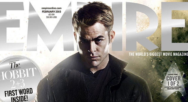 STAR TREK INTO DARKNESS Empire Magazine Covers with Chris Pine & Benedict Cumberbatch