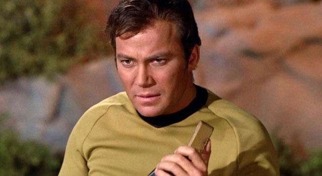 William Shatner Sends Tweet To Space -- Gets a Response