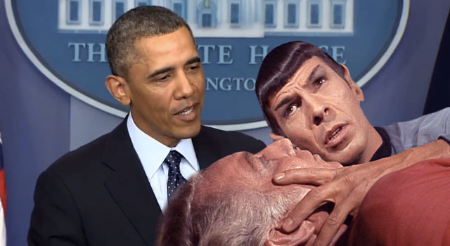 "WATCH: President Obama Talks ""Jedi Mind-Melds"""