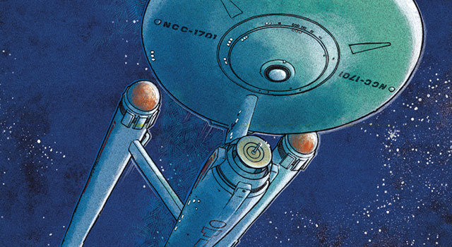 Bye Bye, Robot Launches New U.S.S. Enterprise Poster