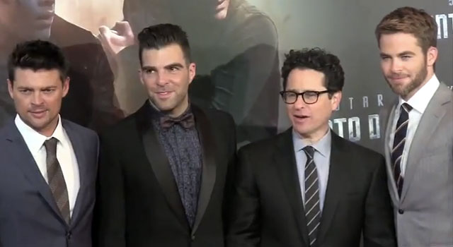 WATCH: Footage FromSTAR TREK INTO DARKNESS Premier In Sydney With Abrams, Pine, Quinto & Urban