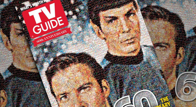 TV Guide Celebrates 60 Years With Special STAR TREK Cover