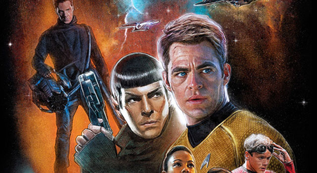 Incredible Fan-Made STAR TREK INTO DARKNESS Posters