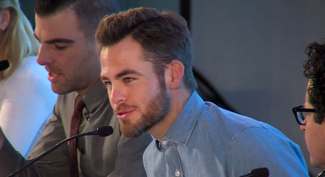 WATCH: Clips From STAR TREK INTO DARKNESS Press Conference In London
