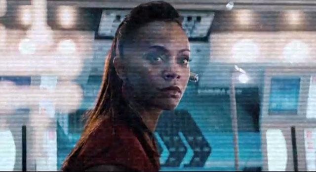 WATCH: Uhura 'Disruptions' Viral Trailer For STAR TREK INTO DARKNESS
