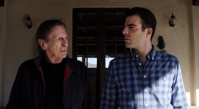 Spock Face-Off: Leonard Nimoy and Zachary Quinto In New Audi Commercial [VIDEO]