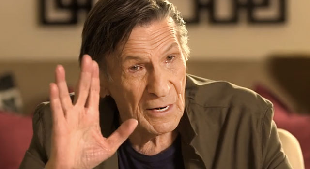 WATCH: Leonard Nimoy Talks The Creation Of Spock, Vulcan Salute, More With Pharrell Williams