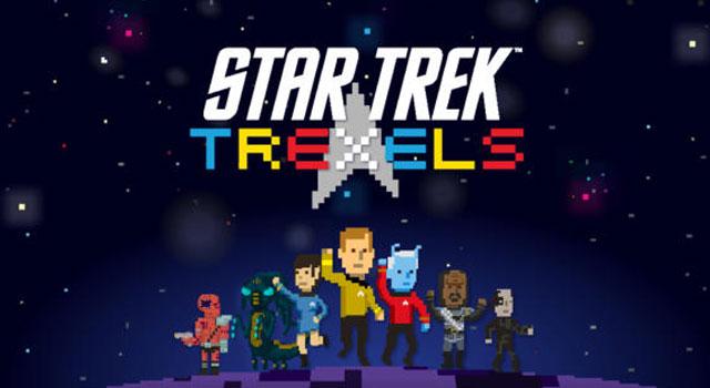 Star Trek TREXELS Released For iPhone & iPad