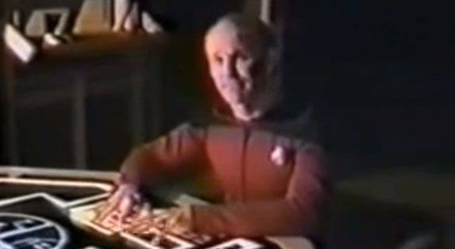 WATCH: Two Fans Broke Into Paramount Lot, Film Their Own TNG Documentary... In 1988
