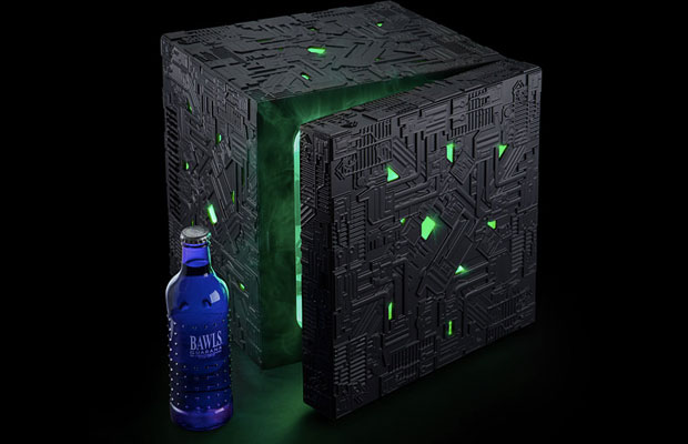Drinks Will Be Assimilated By The Borg Cube Mini-Fridge