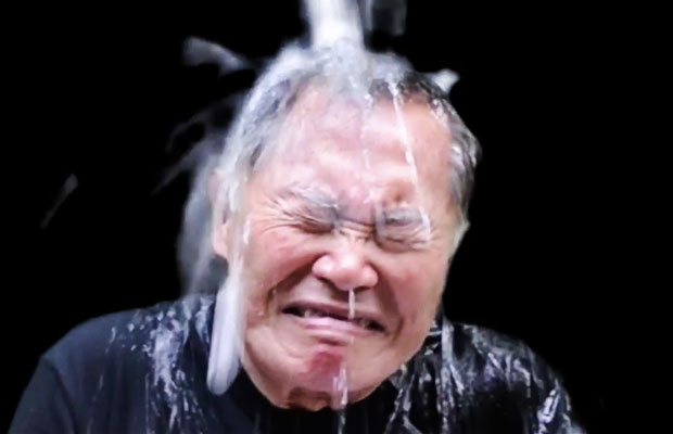 """George Takei Takes The """"Ice-Bucket Challenge"""""""