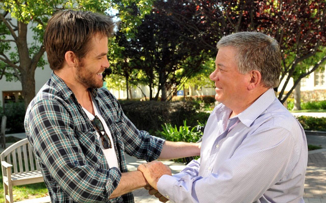 William Shatner To Share Screen With Chris Pine In STAR TREK 3?