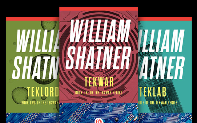 William Shatner's Complete 'TekWar' Series To Be Released In Ebook Format