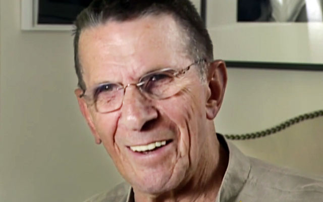 WATCH: Leonard Nimoy Interview On 'CBS Sunday Morning' From 2005
