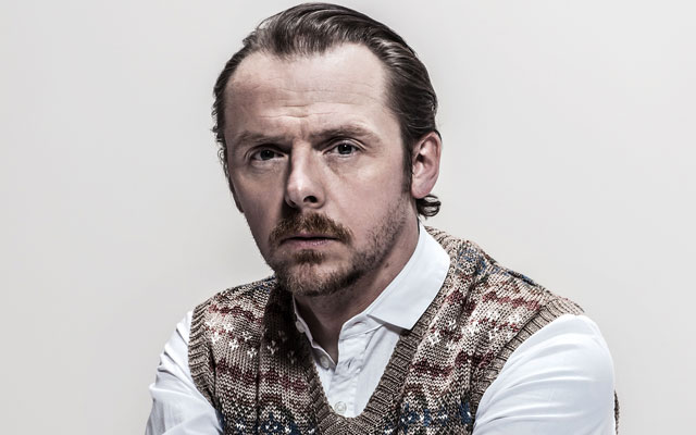 "Simon Pegg Clarifies ""Dumbing Down"" Comments"