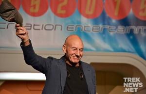 Patrick Stewart at the 2015 Las Vegas Star Trek Convention