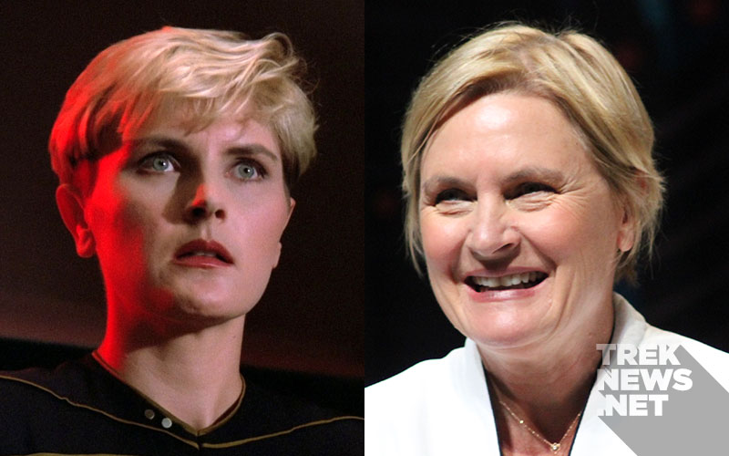 """Star Trek: The Next Generation"" Then and Now: Denise Crosby"