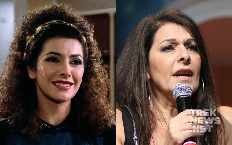 """Star Trek: The Next Generation"" Then and Now: Marina Sirtis"