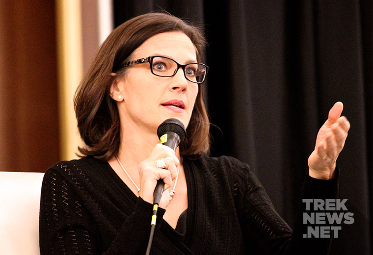 [RICC REPORT] Farrell, Dorn, Sirtis, McFadden Talk Star Trek