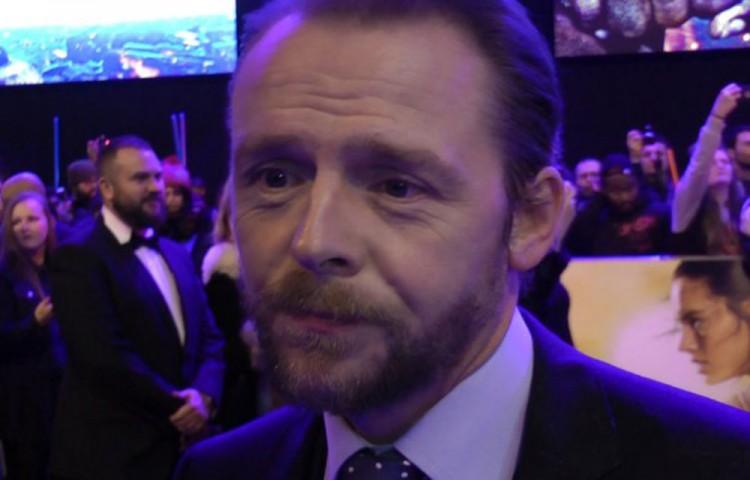 """I Didn't Love It"" Simon Pegg Says of the 'Star Trek Beyond' Trailer"