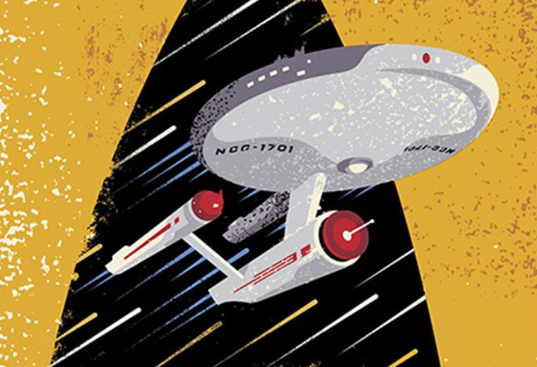 U.S. Postal Service Releasing 50th Anniversary Star Trek Stamps