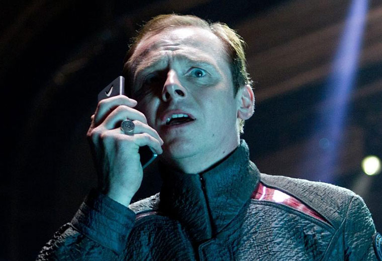 """Simon Pegg: The Foundation of Star Trek Is """"Something We Have To Hang On To"""""""
