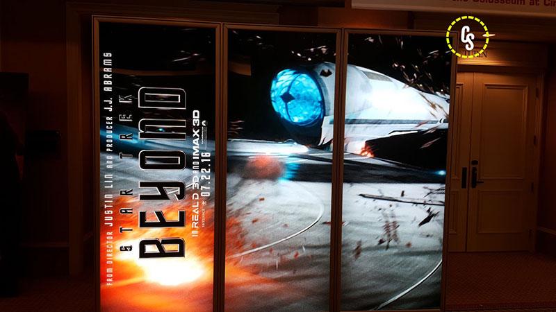 STAR TREK BEYOND Theater Poster