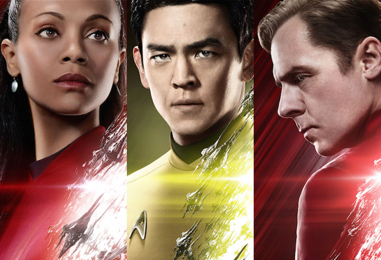 Scotty, Sulu, Uhura STAR TREK BEYOND Posters Added