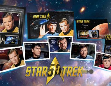 Canadian Post Office Celebrates Star Trek's 50th Anniversary