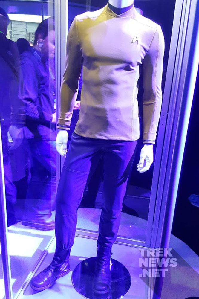 Sulu's uniform on display