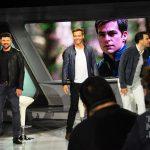 Karl Urban, Chris Pine and Zachary Quinto