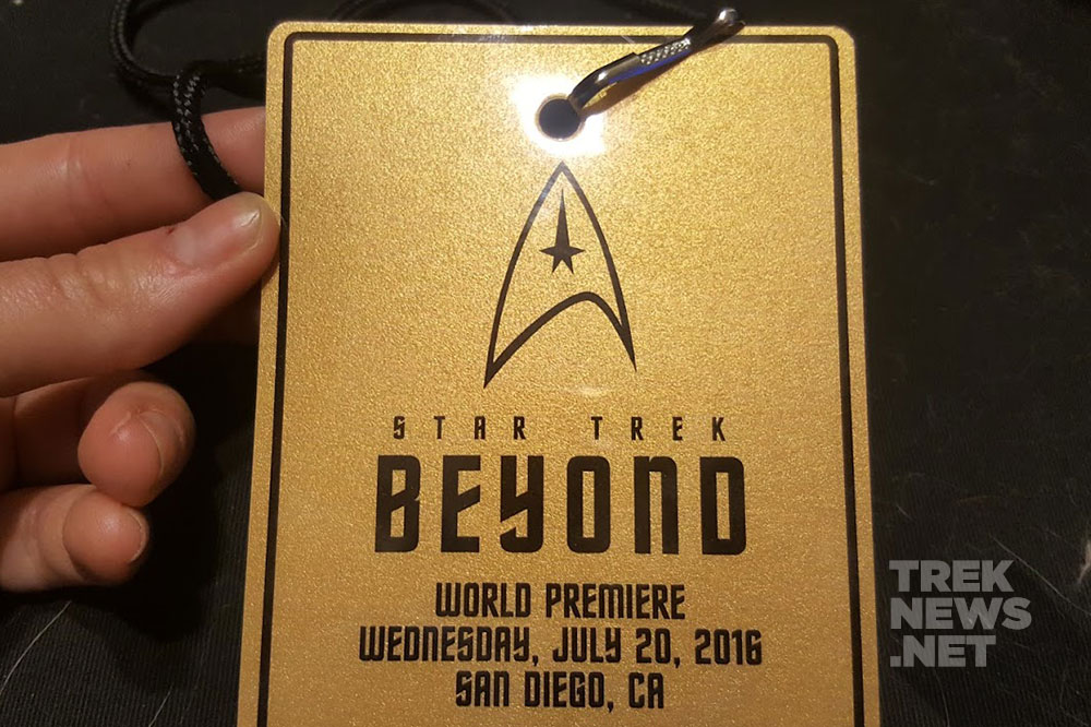 Our golden ticket to the premiere of Star Trek Beyond in San Diego