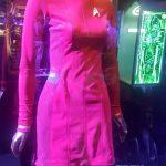 Uhura's uniform on display