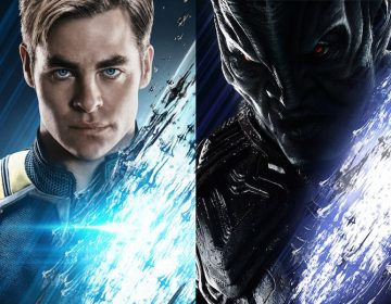 Kirk, Krall Complete the STAR TREK BEYOND Poster Set