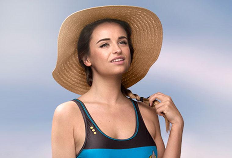 Just In Time For Summer — New Star Trek-Inspired Swimwear