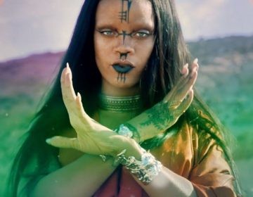 "WATCH: Rihanna's Star Trek-Filled ""Sledgehammer"" Music Video"