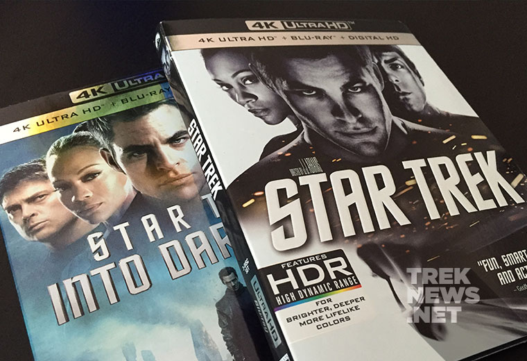 WIN STAR TREK '09, STAR TREK INTO DARKNESS On 4K UHD Blu-ray!